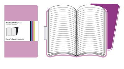 Moleskine Volant Pocket Ruled Pink.