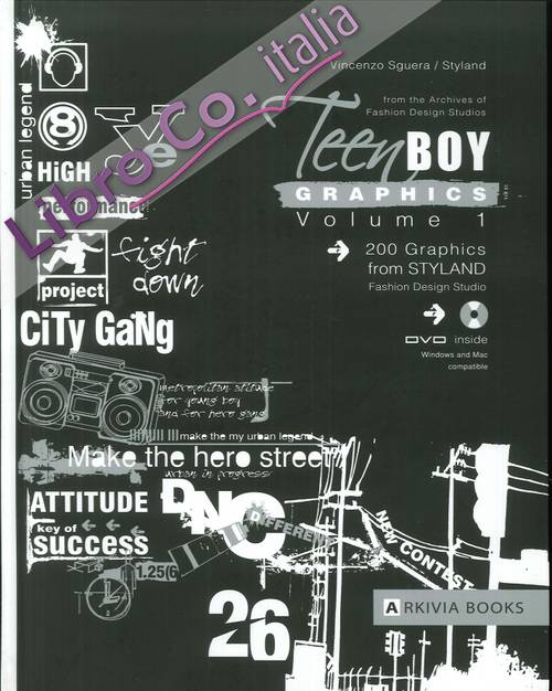 Teen Boy Graphics. Vol. 1. [DVD included]