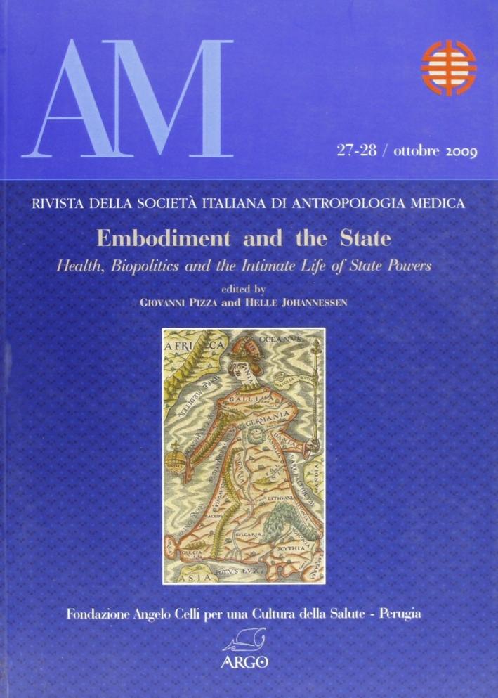 Am. Rivista delle Società Italiana di Antropologia Medica. Vol. 27-28. Ediz. inglese