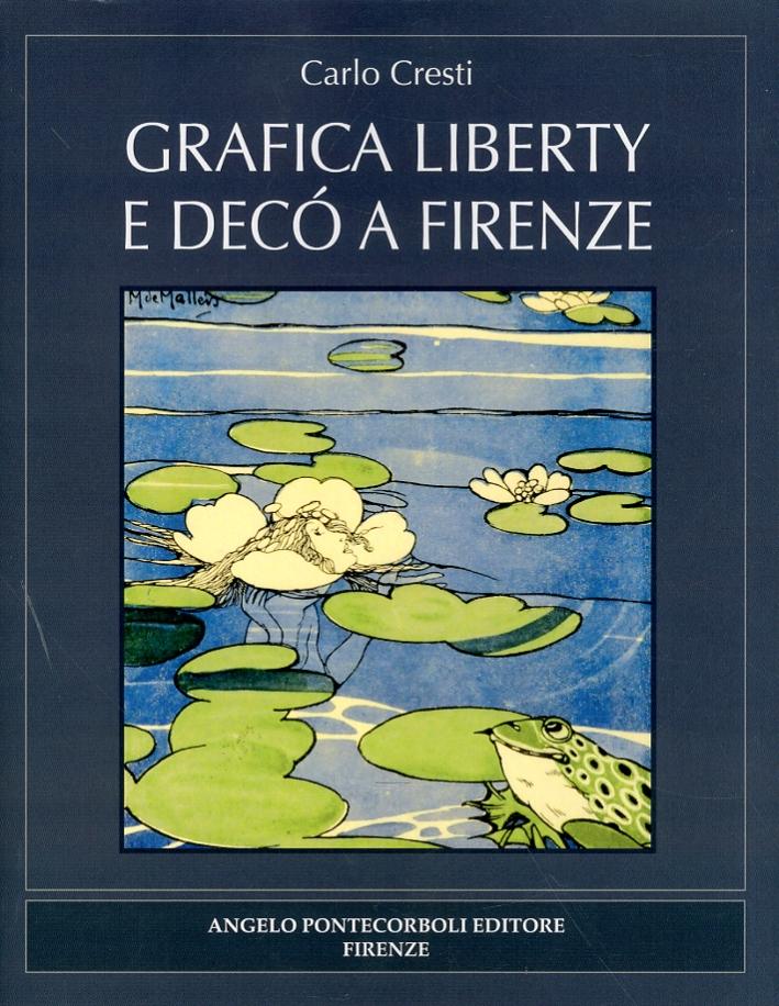 Grafica liberty e decò a Firenze