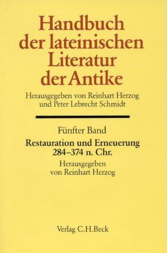 Handbuch der lateinischen Literatur der Antike, 8/5