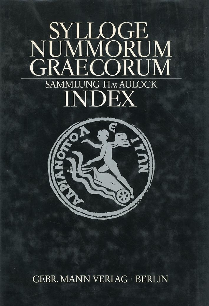 Sylloge Nummorum Graecorum. Deutschland. Index