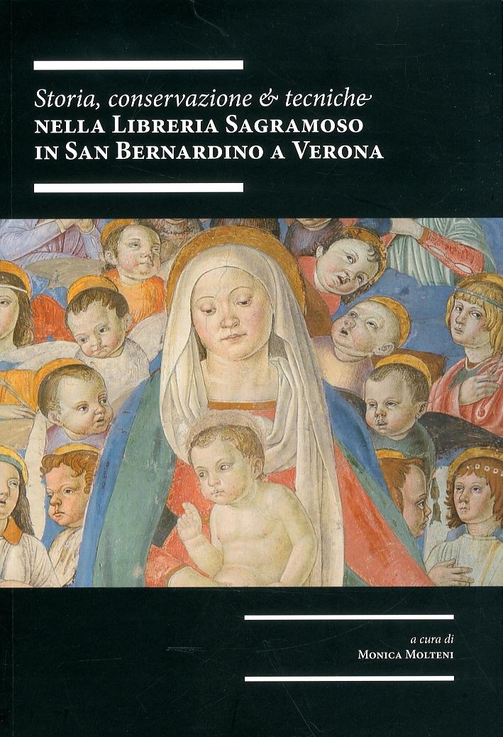 Storia, conservazione e tecniche nella libreria Sagramoso in San Bernardino a Verona.