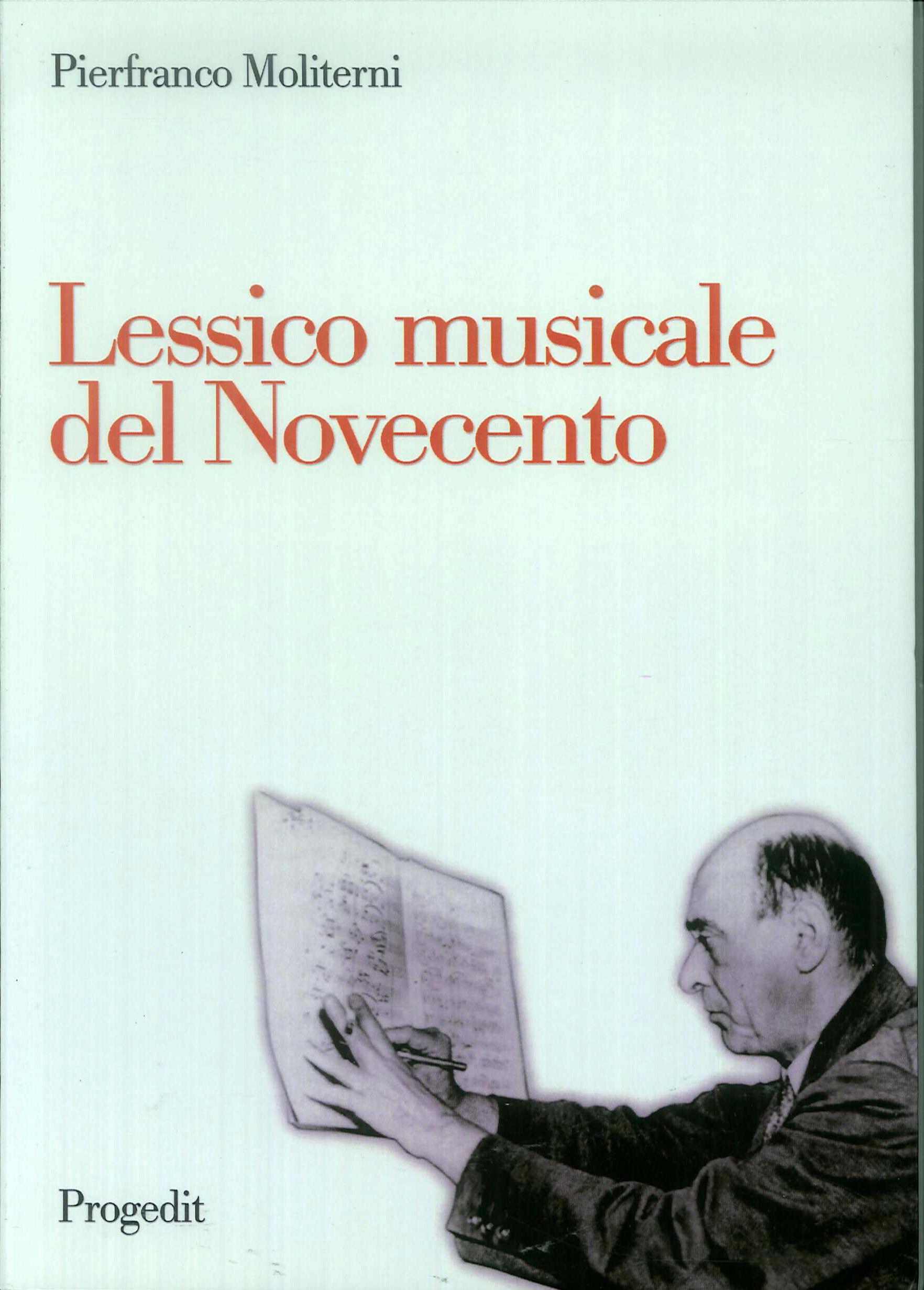 Lessico musicale nel Novecento