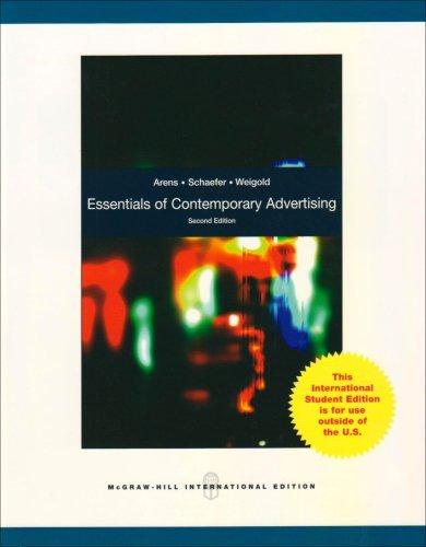 Essentials of Contemporary Advertising.