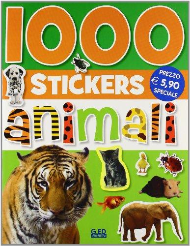 Mille stickers. Animali.