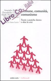 Comune, comunità, comunismo