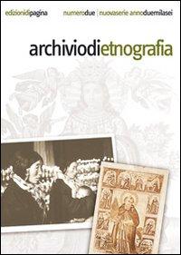 Archivio di etnografia (2006). Vol. 2