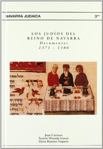 Los judios del reino de navarra: documentos 1371-1386