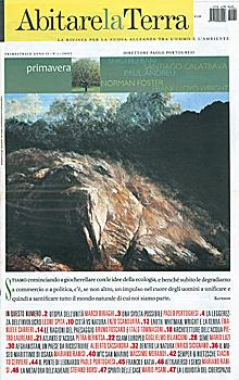 Abitare la Terra n. 4/2002. Dwelling on Earth.