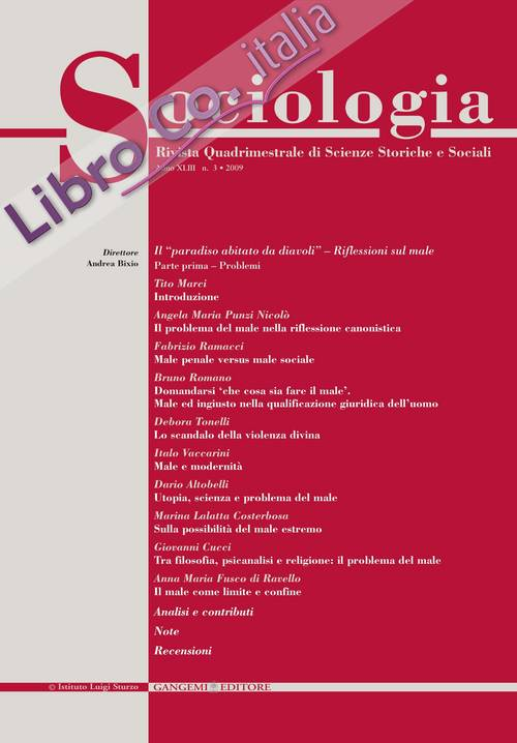 Sociologia n.3/2009.