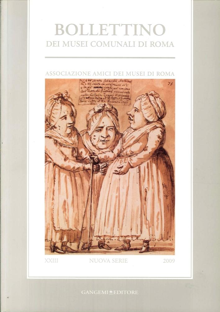 Bollettino dei Musei Comunali di Roma (2009). Vol. 23.