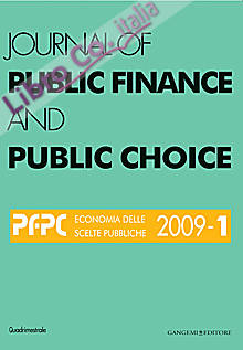 Journal of Public Finance and Public Choice n. 1/2009.