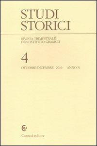 Studi storici (2010). Vol. 4.