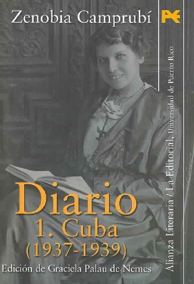 Diario, i: cuba (1937-1939).
