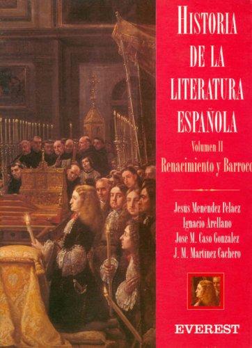 Hª literatura: siglo de oro española,vol.2