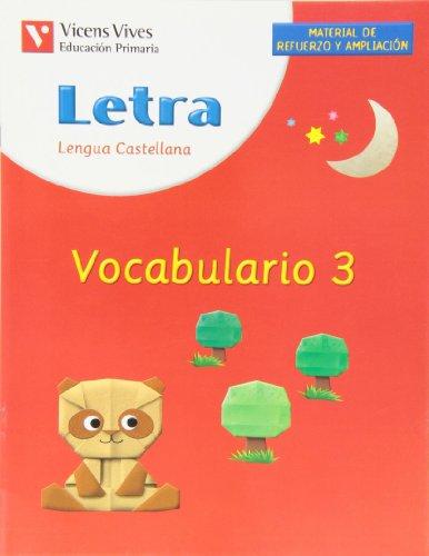 Letra. vocabulario 3
