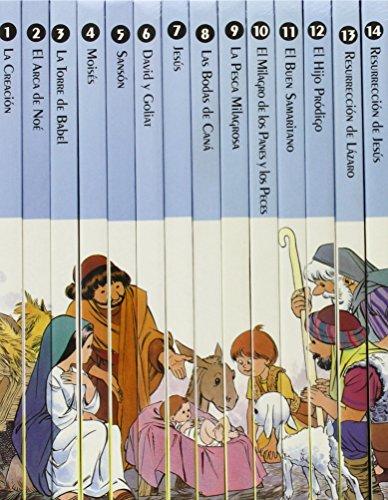 Mi primera biblia, 14 vols...