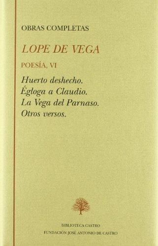 Poesia vi (vol 41 obras completas)lope de vega