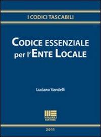 Codice essenziale per l'ente locale