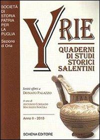 Yrie. Quaderni di studi storici salentini