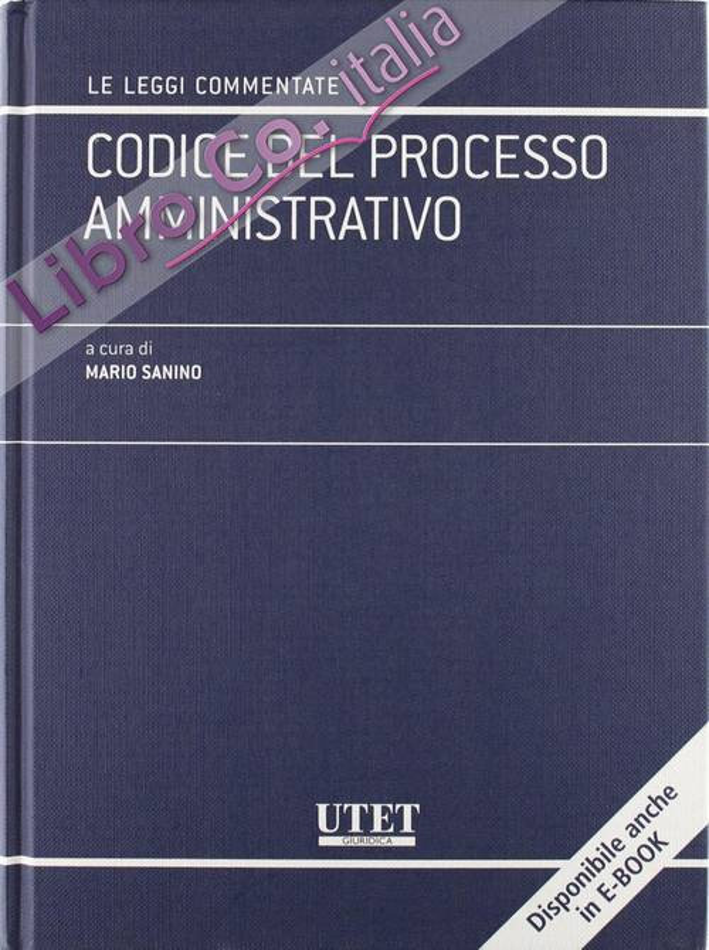 Codice del processo amministrativo