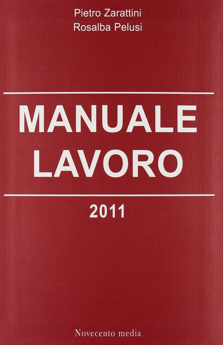 Manuale lavoro 2011