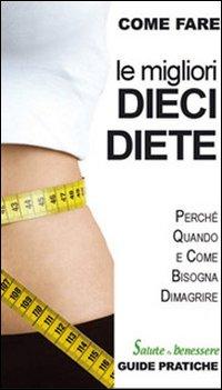 Le migliori dieci diete.