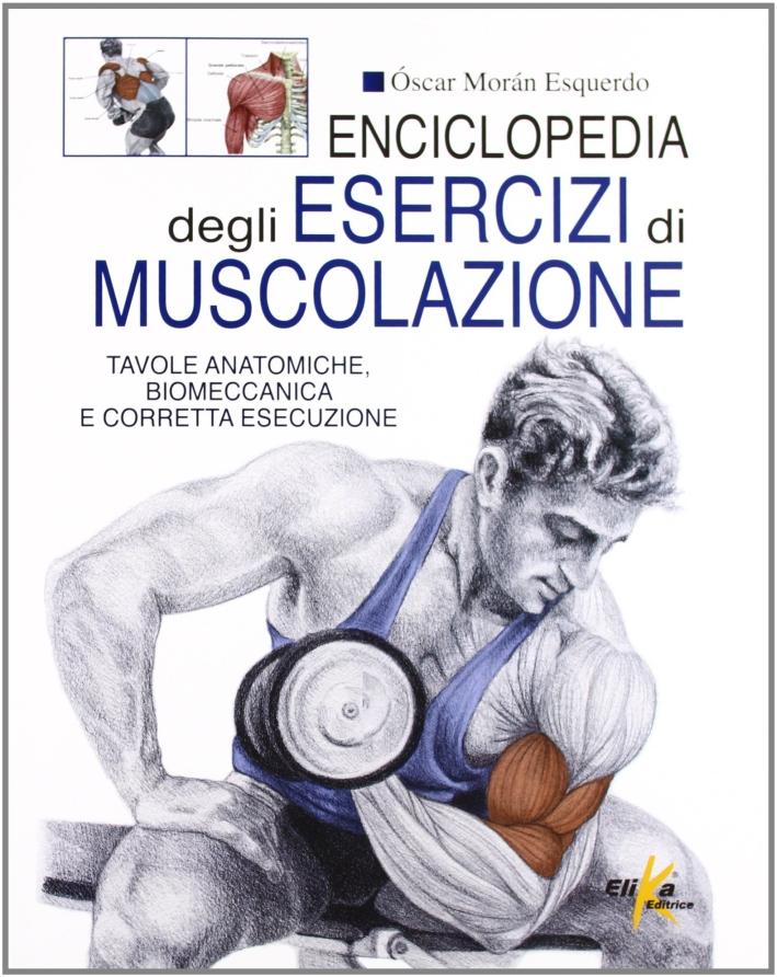 Enciclopedia degli esercizi di muscolazione.