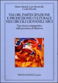 Valori, partecipazione e produzione culturale nei circoli giovanili Arci. Una ricerca comparativa nella provincia di Mantova.