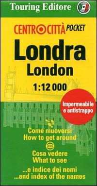 Londra-London 1:12.000. Ediz. italiana e inglese