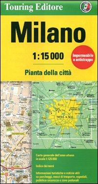 Milano 1:15.000. Pianta della città