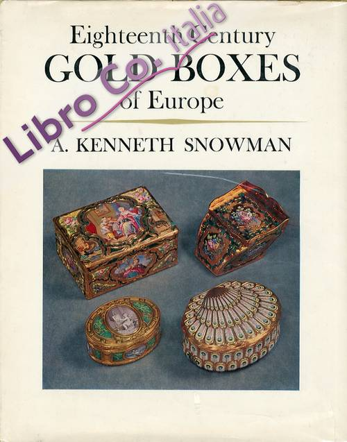 Eighteenth century Gold Boxes of europe.