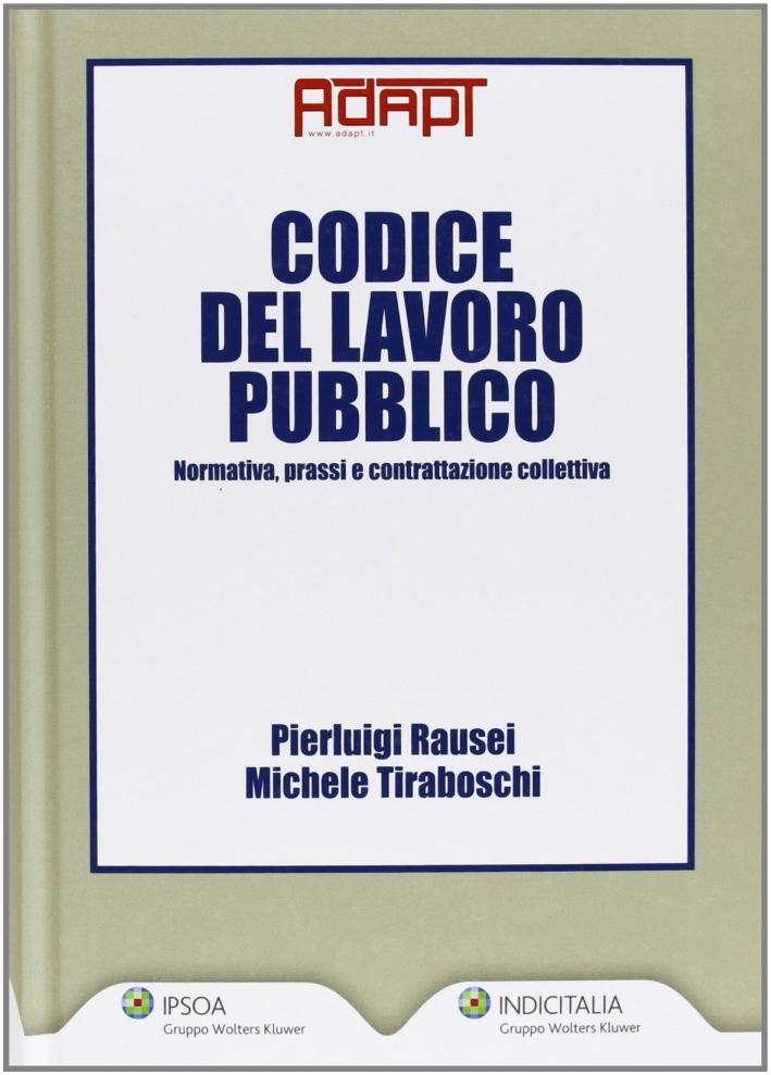 Codice del lavoro pubblico.