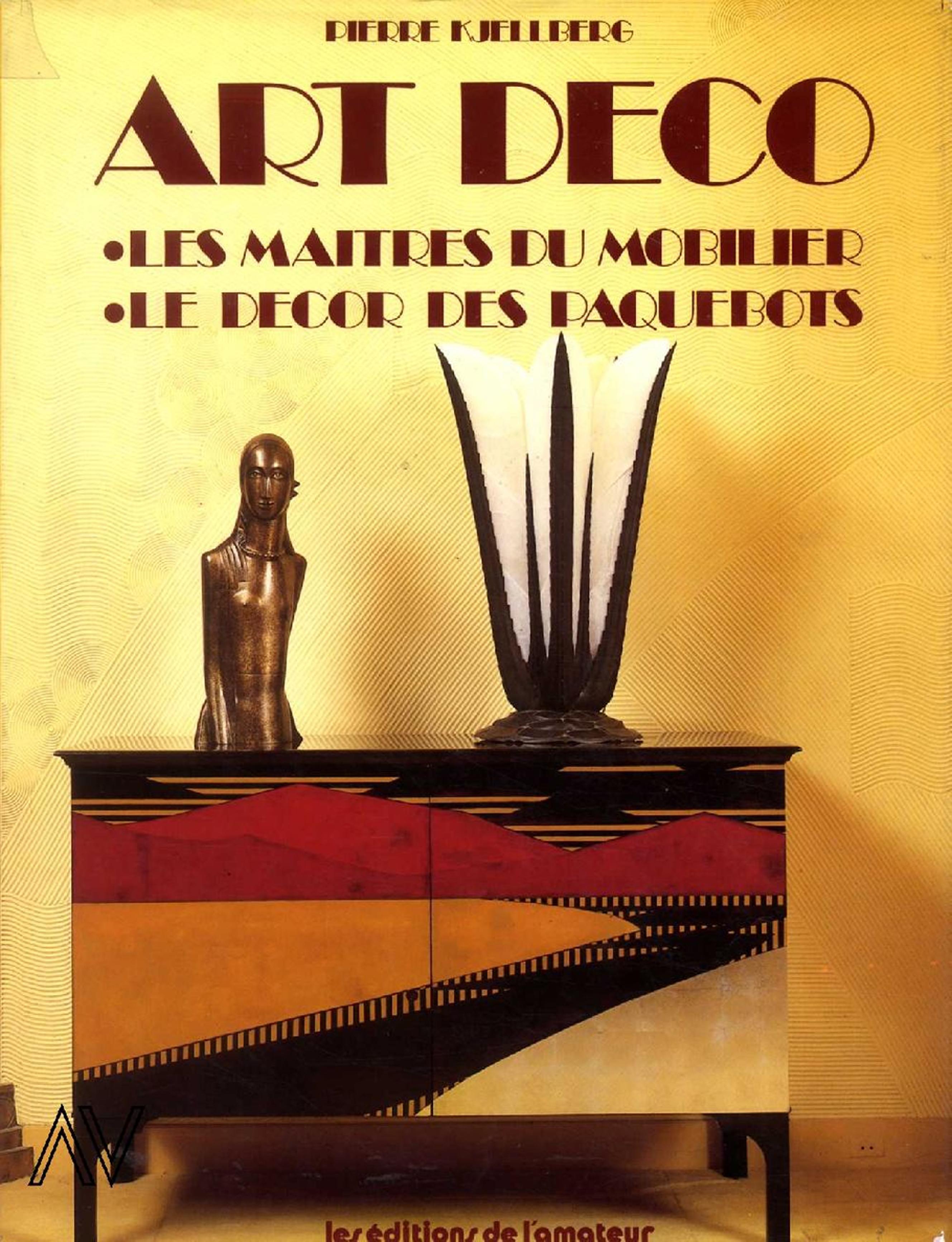 Art Dèco. Les maitres du mobilier. Le dècor des paquebotos. Nuova edizione. Prima edizione 1981.