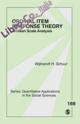 Ordinal Item Response Theory.