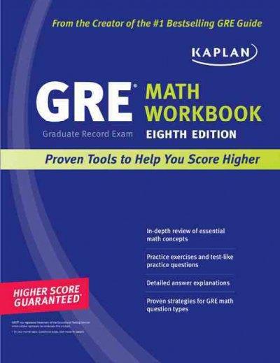 New GRE Math Workbook.