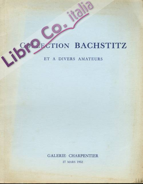 Collection bachstitz et a Divers Amateurs