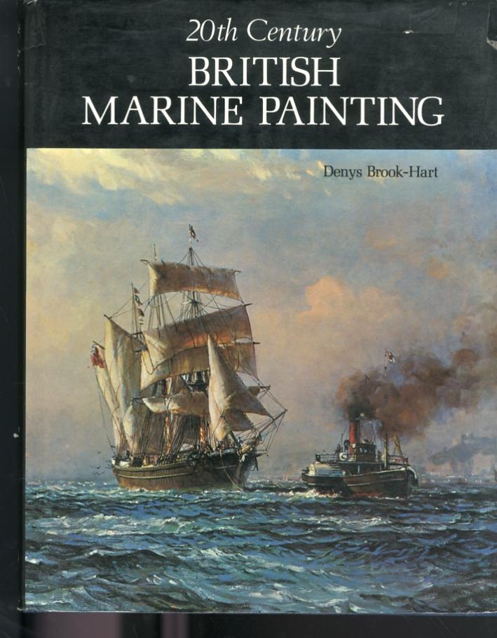 20th century. British marine painting.