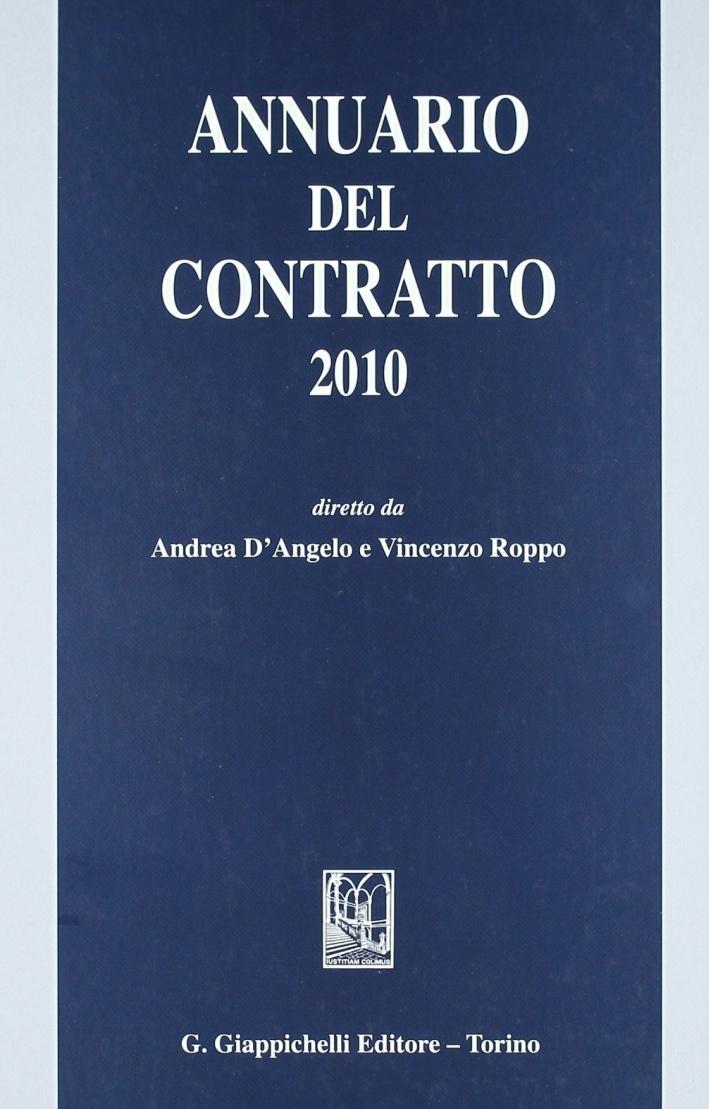 Annuario del contratto 2010.