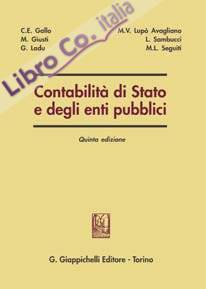 Contabilità di Stato e degli enti pubblici
