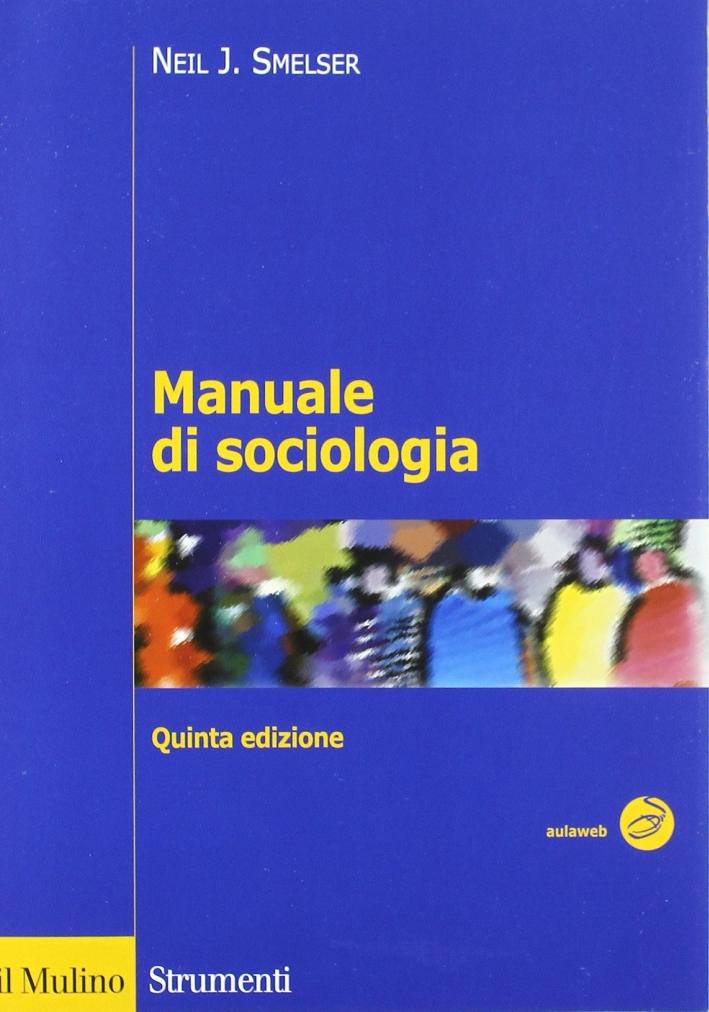 Manuale di sociologia.