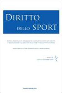 Diritto dello sport (2010) vol. 3-4
