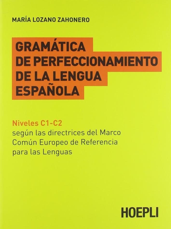 Gramatica de perfeccionamento de la lengua espanola