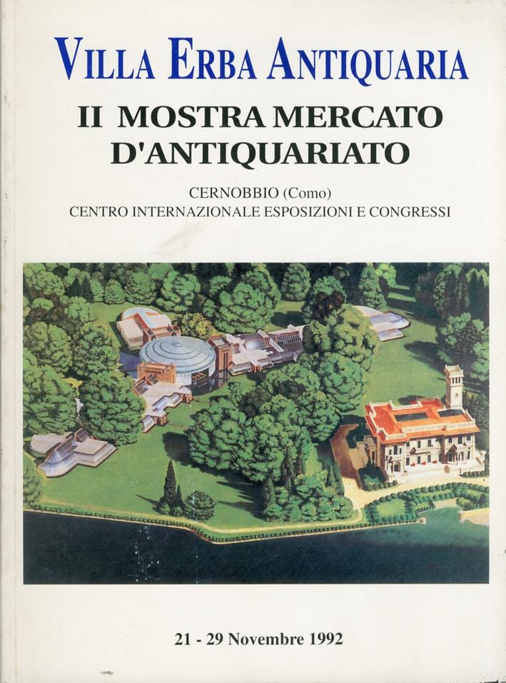 Villa Erba Antiquaria. II Mostra Mercato d'Antiquariato