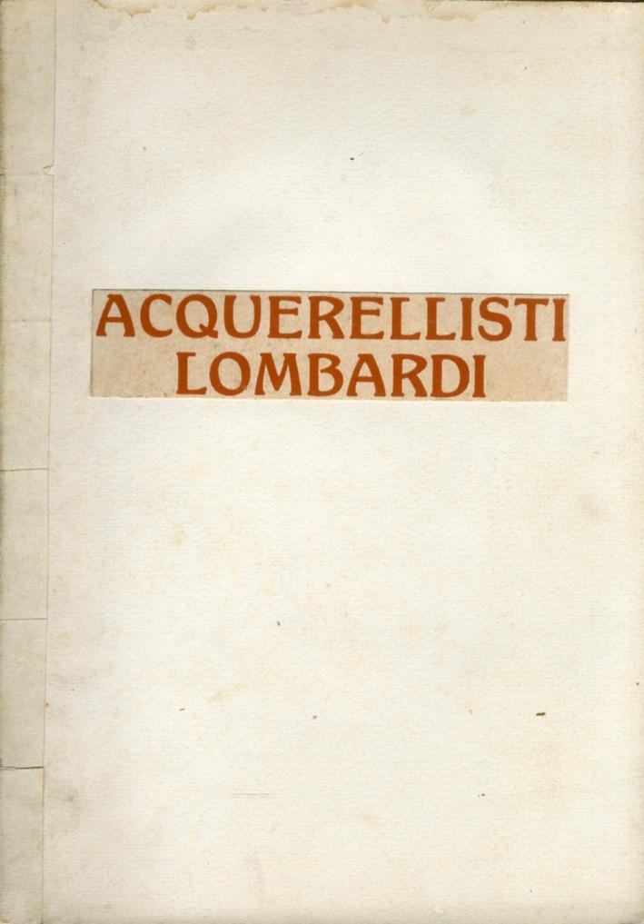Acquerellisti Lombardi