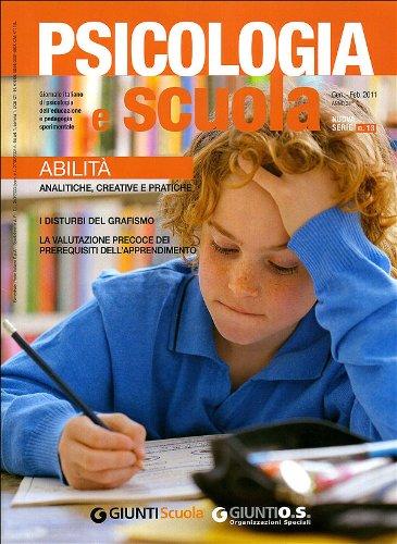 Psicologia e Scuola n. 13 - Gennaio/Febbraio 2011