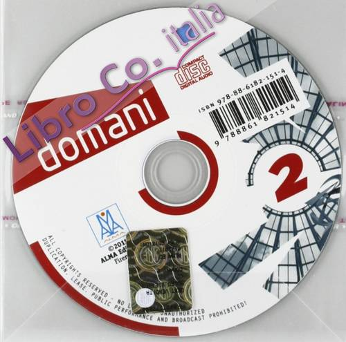 Domani. CD Audio. Vol. 2