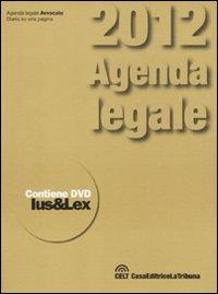 Agenda legale 2012. Con DVD-ROM