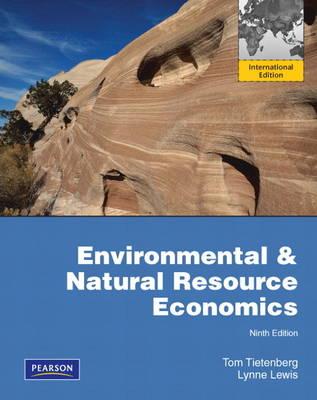 Environmental & Natural Resources Economics PIE NO US SALES